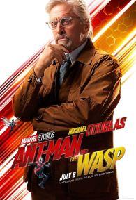 Ant-Man et la guêpe - super-héros - Hank Pym - Michael Douglas - affiche