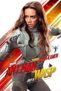 Ant-Man et la guêpe - super-héros - Hannah-John Kamen - affiche