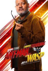 Ant-Man et la guêpe - super-héros - Laurence Fishburne - affiche
