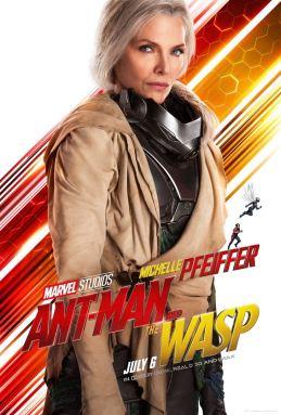 Ant-Man et la guêpe - super-héros - Michelle Pfeiffer - affiche
