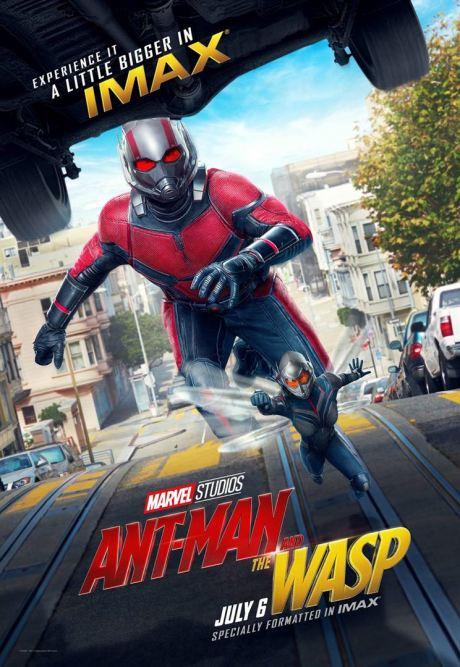 Ant-Man et la guêpe - super-héros - Paul Rudd - affiche rue