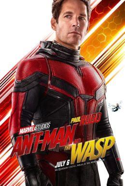 Ant-Man et la guêpe - super-héros - Paul Rudd - affiche