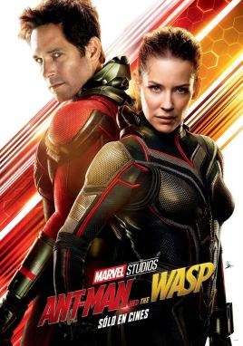 Ant-Man et la guêpe - super-héros - Paul Rudd - Evangeline Lilly - affiche duo