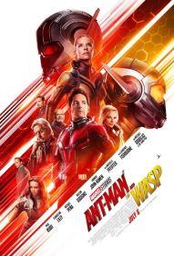Ant-Man et la guêpe - super-héros - Paul Rudd - Evangeline Lilly - Michael Douglas - Michelle Pfeiffer - Laurence Fishburne - affiche 2