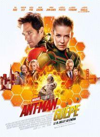 Ant-Man et la guêpe - super-héros - Paul Rudd - Evangeline Lilly - Michael Douglas - Michelle Pfeiffer - Laurence Fishburne - affiche