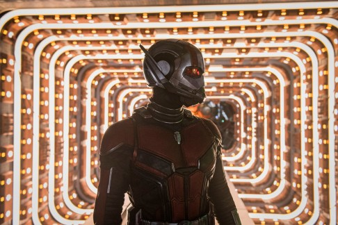 Marvel Studios ANT-MAN AND THE WASP..Ant-Man/Scott Lang (Paul Rudd) ..Photo: Ben Rothstein..©Marvel Studios 2018