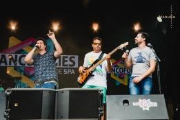 Le 8è Groupe @ Les Francofolies de Spa 2018 - 21/07/2018 © ManuGo Photography