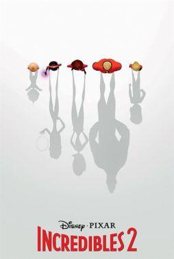 Les indestructibles 2 - brad bird - disney - affiche ombres