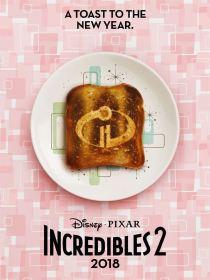 Les indestructibles 2 - brad bird - disney - affiche toaster