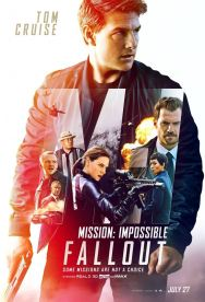 Mission impossible 6 - Fallout - Christopher McQuarrie - Ethan Hunt - Tom Cruise - Vingh Rames - Henry Cavill - Sean Harris - Rebecca Ferguson - affiche 2