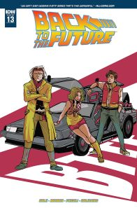 Retour vers le futur - tome 4 - Qui est... Marty McFly - John Barber - Bob Gale - Emma Vieceli - Esther Salguero - Back to the future #13 - cover