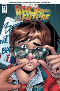 Retour vers le futur - tome 4 - Qui est... Marty McFly - John Barber - Bob Gale - Emma Vieceli - Jose Luis Rio - Back to the future #12 - alt cover