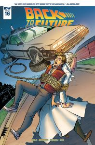 Retour vers le futur - tome 4 - Qui est... Marty McFly - John Barber - Bob Gale - Emma Vieceli - Jose Luis Rio - Back to the future #16 - cover