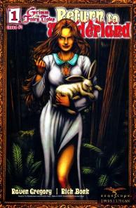 Wonderland - T1 - Retour au pays des merveilles - gore - maléfique - comics - Fraph Zeppelin - Gregory - Leister - Bonk - Rio - Ruffino - Mason - #1 - cover
