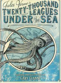 20 000 lieues sous les mers - Jules Verne - adaptation - Gary Gianni - science-fiction - aventure - couverture anglaise