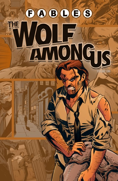 The wolf among us - tome 1 - spin-off - Fables - Sturges - Justus - Sadowski - Moore - Nguyen - Mitten - McManus - Pepoy - Zullo - Loughridge - cover