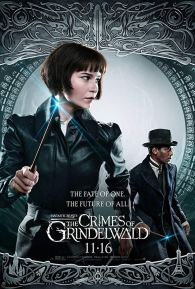 fantastic beasts and how to catch them - Les animaux fantastiques 2 - Les crimes de Grindelwald - paris - affiche Tina - Katherine Waterston - william nadylam