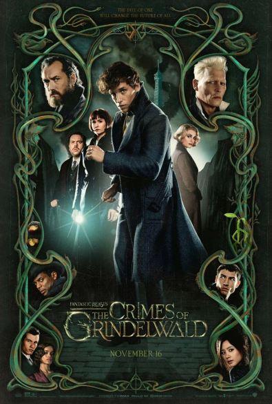 fantastic beasts and how to catch them - Les animaux fantastiques 2 - Les crimes de Grindelwald - paris - Eddie Redmayne - Johnny Depp - Jude Law - affiche 2