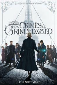 fantastic beasts and how to catch them - Les animaux fantastiques 2 - Les crimes de Grindelwald - paris - Eddie Redmayne - Johnny Depp - Jude Law - affiche
