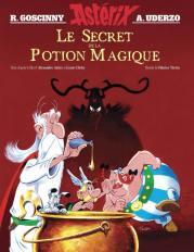 Astérix et le secret de la potion magique - dessin animé - film - astier - clichy - album du film - Fabrice Tarrin - couverture